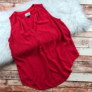 Universal thread red oversized tank